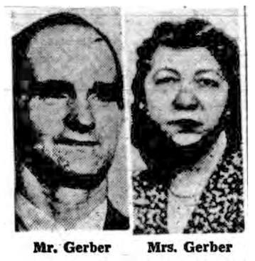 Mr. & Mrs. Gerber