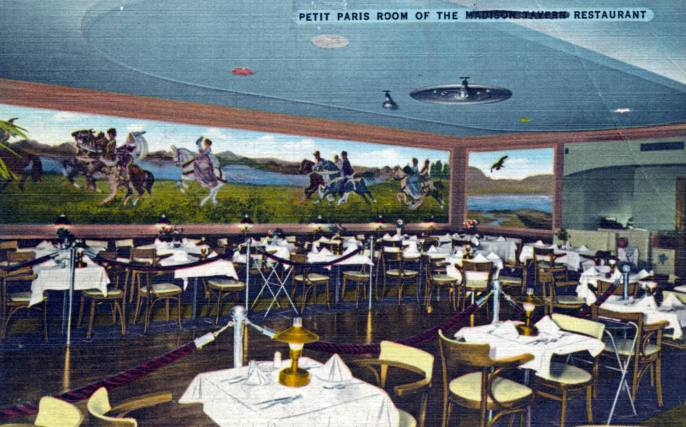 Petit Paris Dining Room