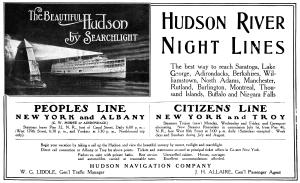 hudson night boat