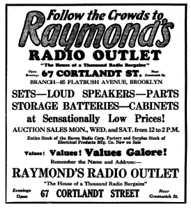 raven liquidation 1926