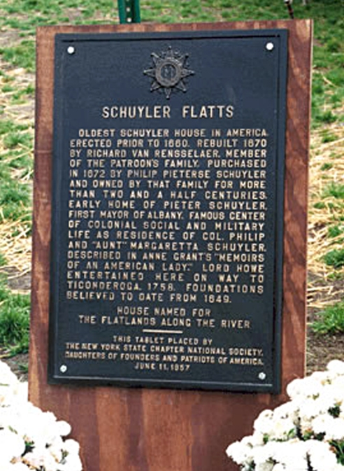flatts plaque