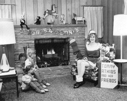 Tommy Atkins, Cookie and Oogie at Christmas.
