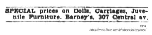 1934 barneys