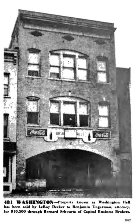 1942 washington hall