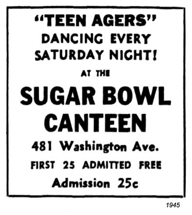 1945 sugar bown canteen