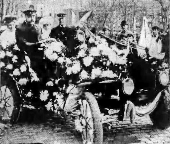 1905 auto float