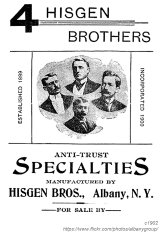 1902 higson brothers