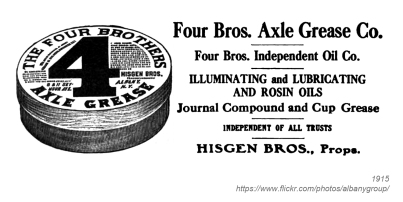 1915 higson brothers