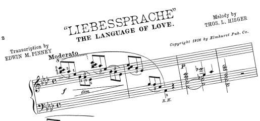 1916 lieb music