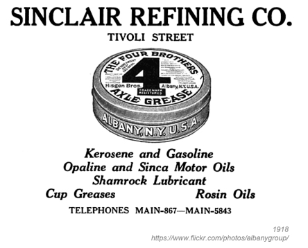 1918 sinclair refining