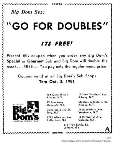 1981 big dom's